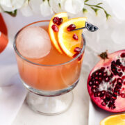 Pomegranate & Orange Cocktail