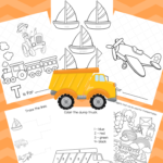 Free Big Preschool Workbook Download – For Boys