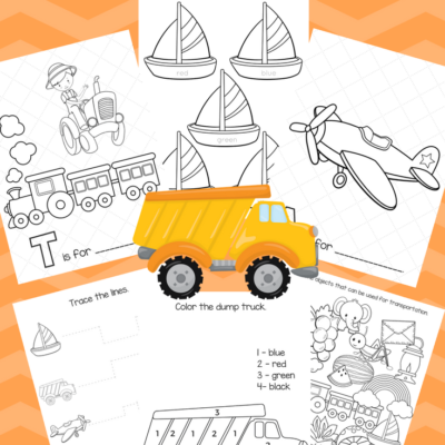 Free Big Preschool Workbook Download – For Boys