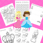 Free Big Preschool Workbook Download – For Girls