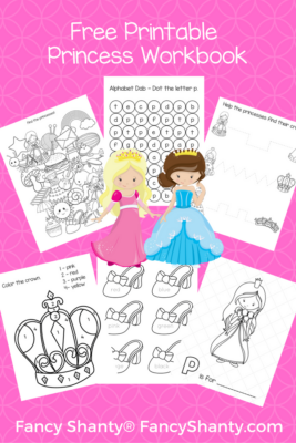 Big Preschool Workbook Download - For Girls