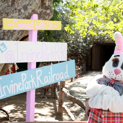 Irvine Park Railroad 10th Annual Easter Eggstravaganza Giveaway