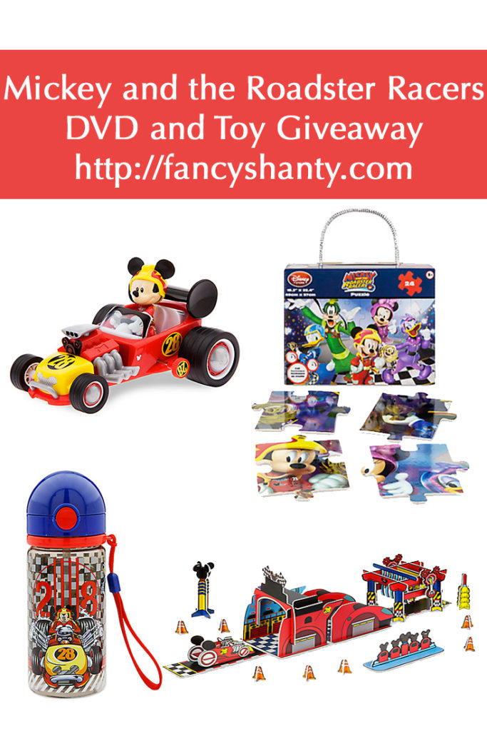 Mickey and the Roadster Racers DVD & Toy Giveaway