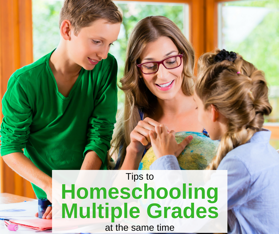 Tips to Homeschooling Different Grades at the Same Time