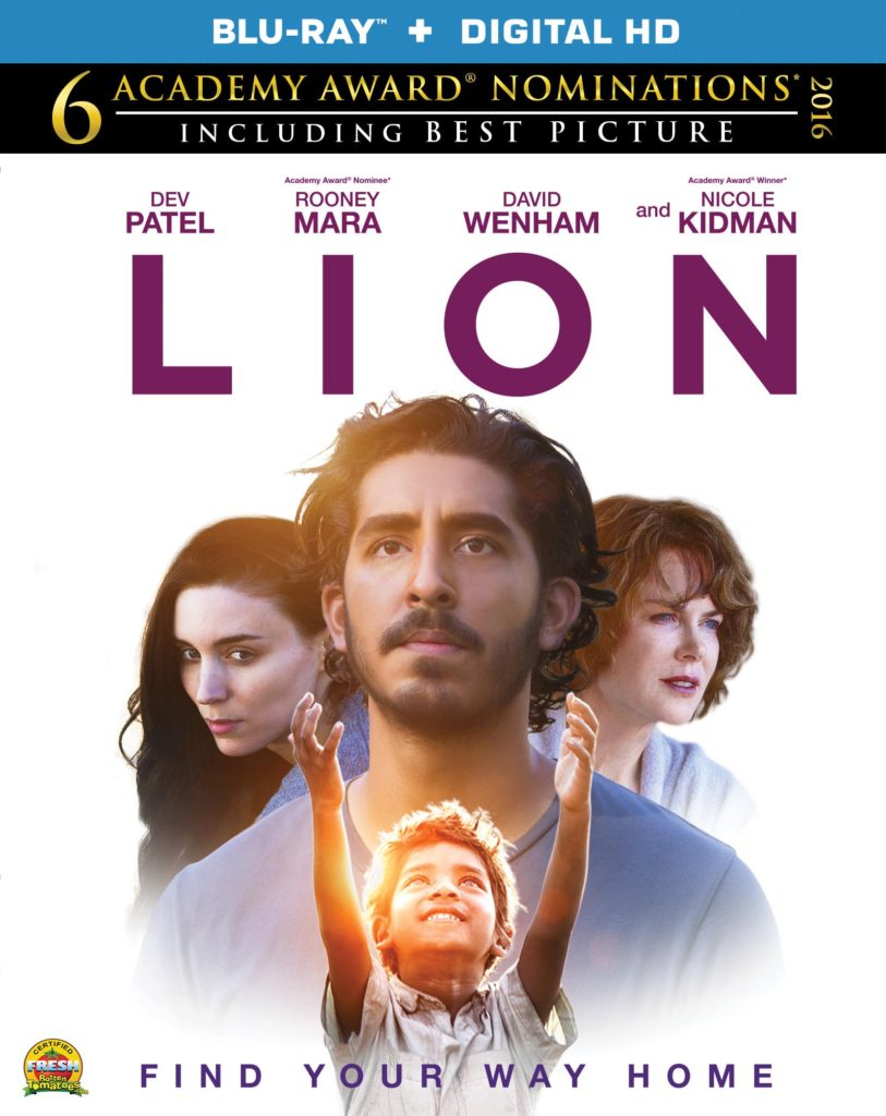LION BluRay Now Available