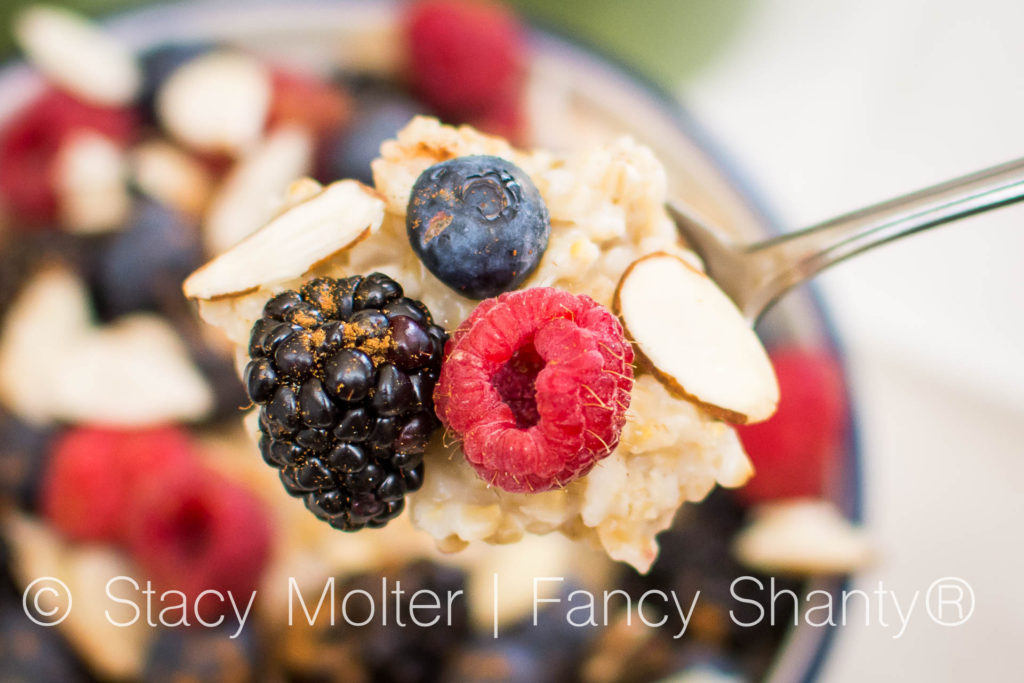 Berry Nutty Oatmeal