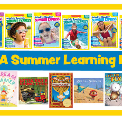 Giveaway: Scholastic Summer Express Prize Kit