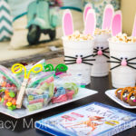 Outdoor Screening with Bambi Themed Party Ideas