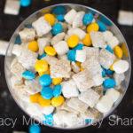 Lemon Blueberry Dessert – Minion Muddy Buddy Mix