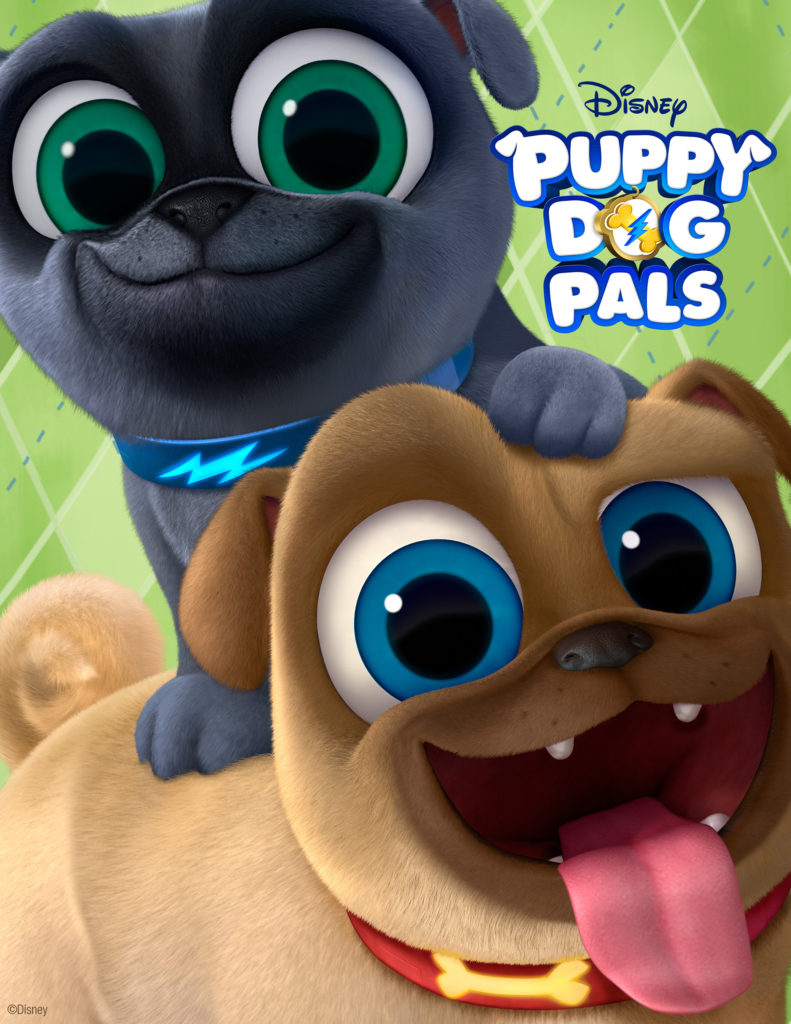 DisneyJunior's Puppy Dog Pals - Embark on a Thrill-Seeking Adventure with Bingo and Rolly
