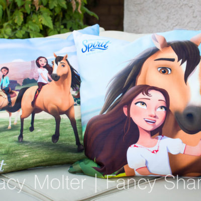 DreamWorks Spirit Riding Free 18″ Pillows