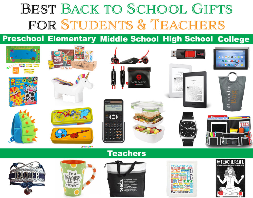 Best Back to School Gifts for Students, Teachers, and Parents