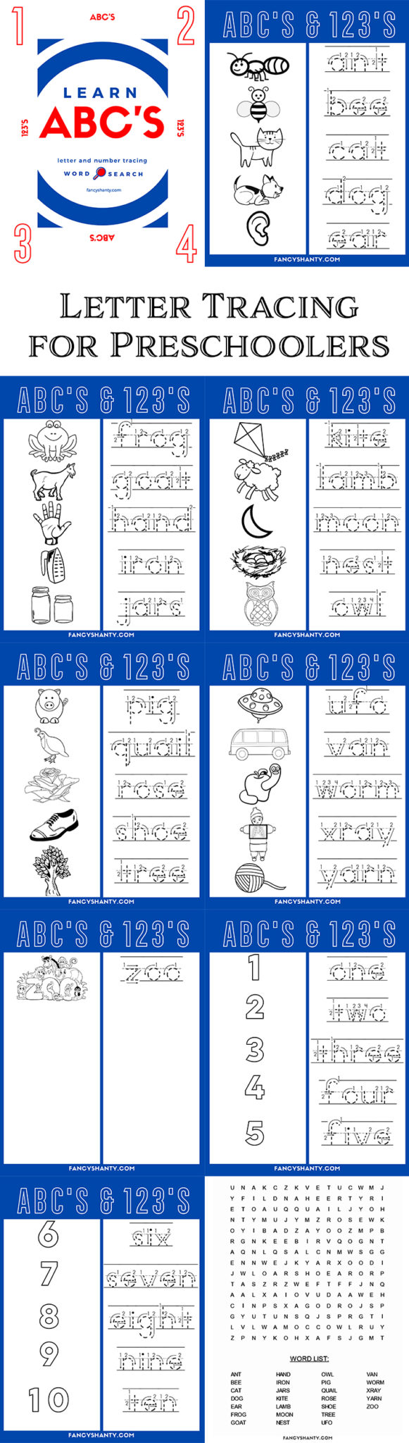 Letter Tracing for Preschoolers