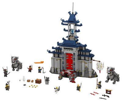 LEGO Ninjago Temple Ultimate Ultimate Weapon 70617 Building Kit