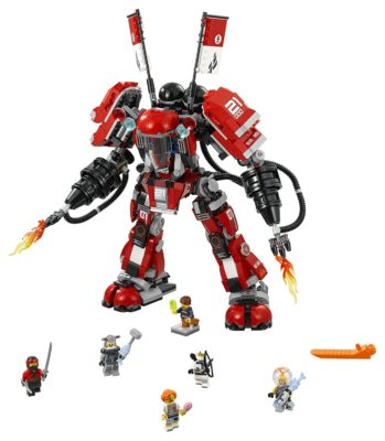LEGO Ninjago Fire Mech 70615 Building Kit