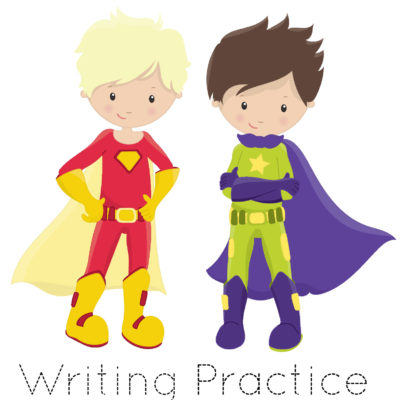 Free Printable 100 Sight Words List – Super Heroes for Boys & Girls