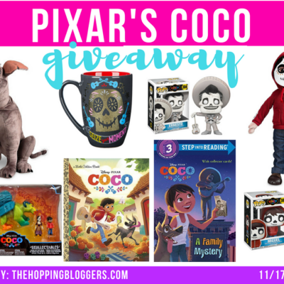 Disney Pixar Coco's Toy Giveaway
