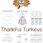 Thankful Turkeys – Free Thanksgiving Printables