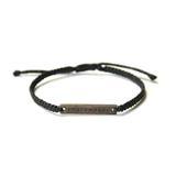 Peacemaker Bracelet - Black