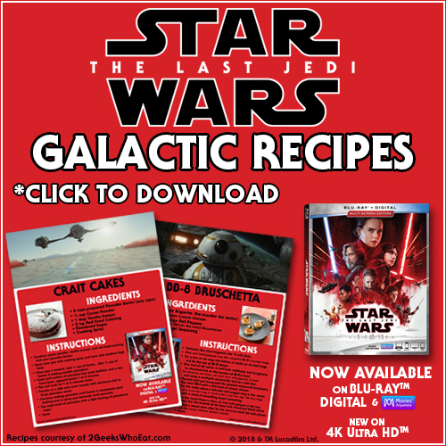 Star Wars: The Last Jedi Galactic Recipes
