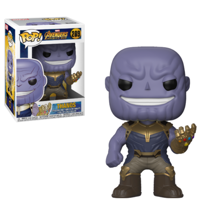 Funko Pop Marvel: Avengers Infinity War-Thanos Collectible Figure