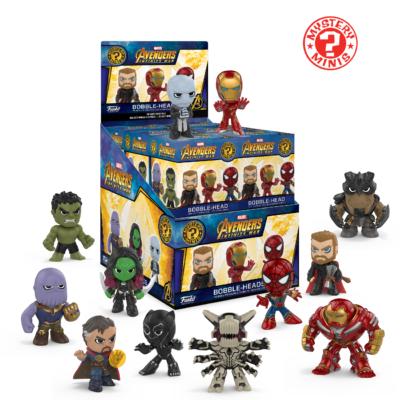 Funko Mystery Minis: Marvel Comic Avengers Infinity War Bobblehead Mini Toy Action Figure