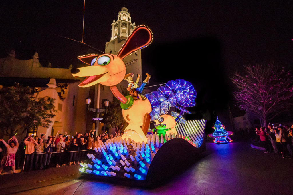 Pixar Fest at Disneyland Parks