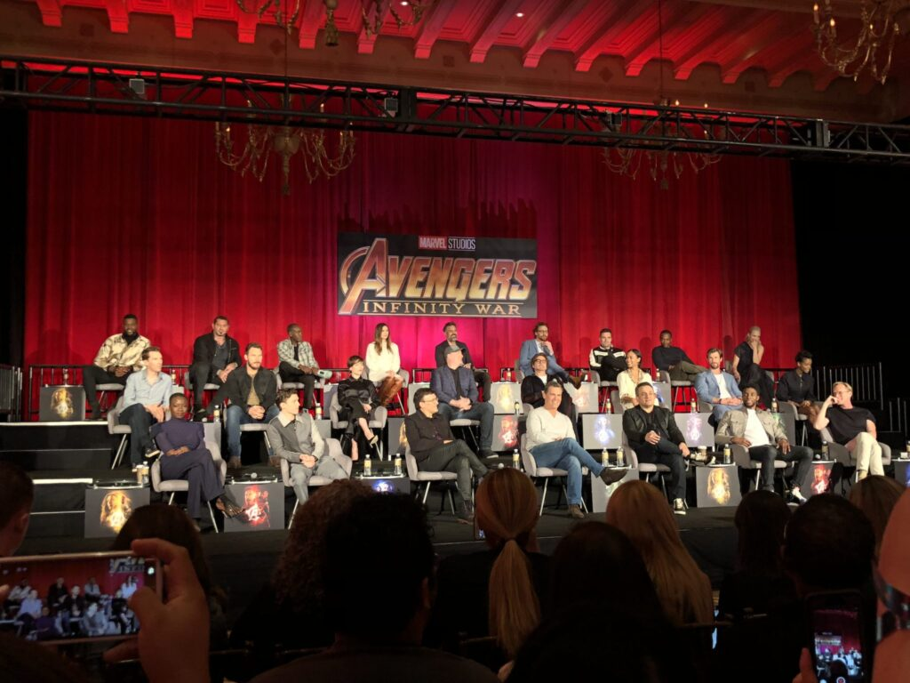 Infinity War Cast Interviews