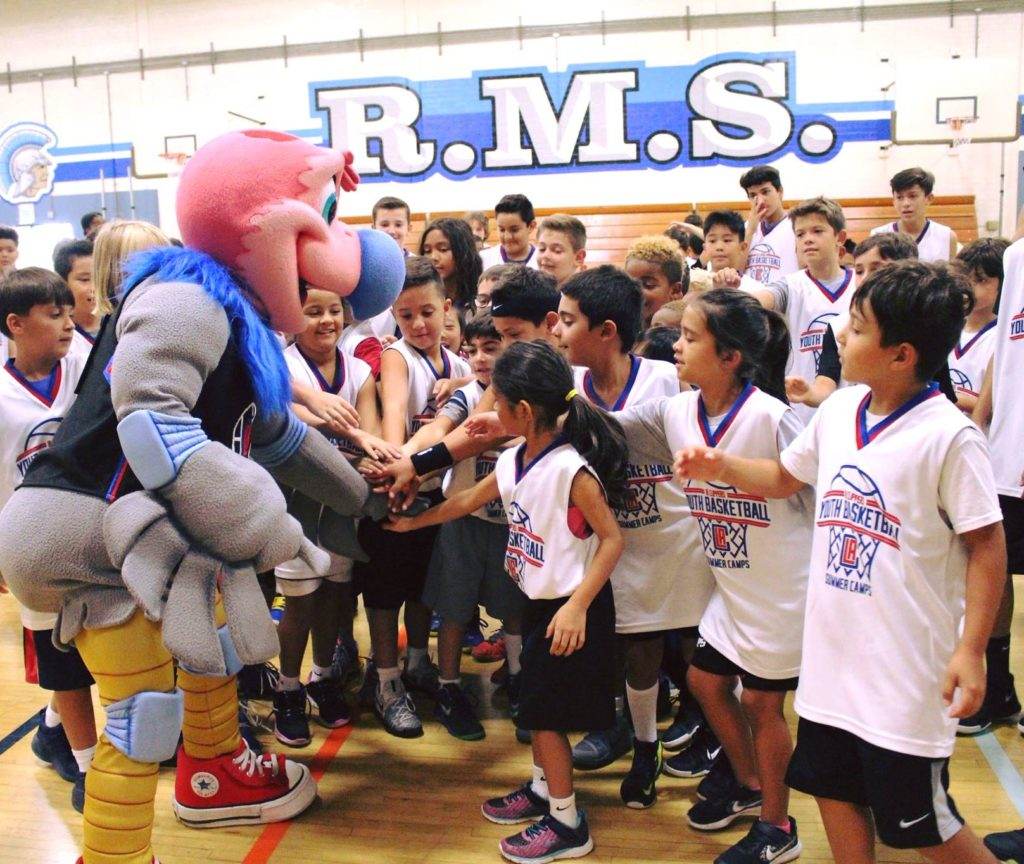 The LA Clippers Youth Basketball Summer Camp Program