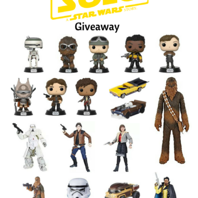 $300 Solo: A Star Wars Story Toy Giveaway