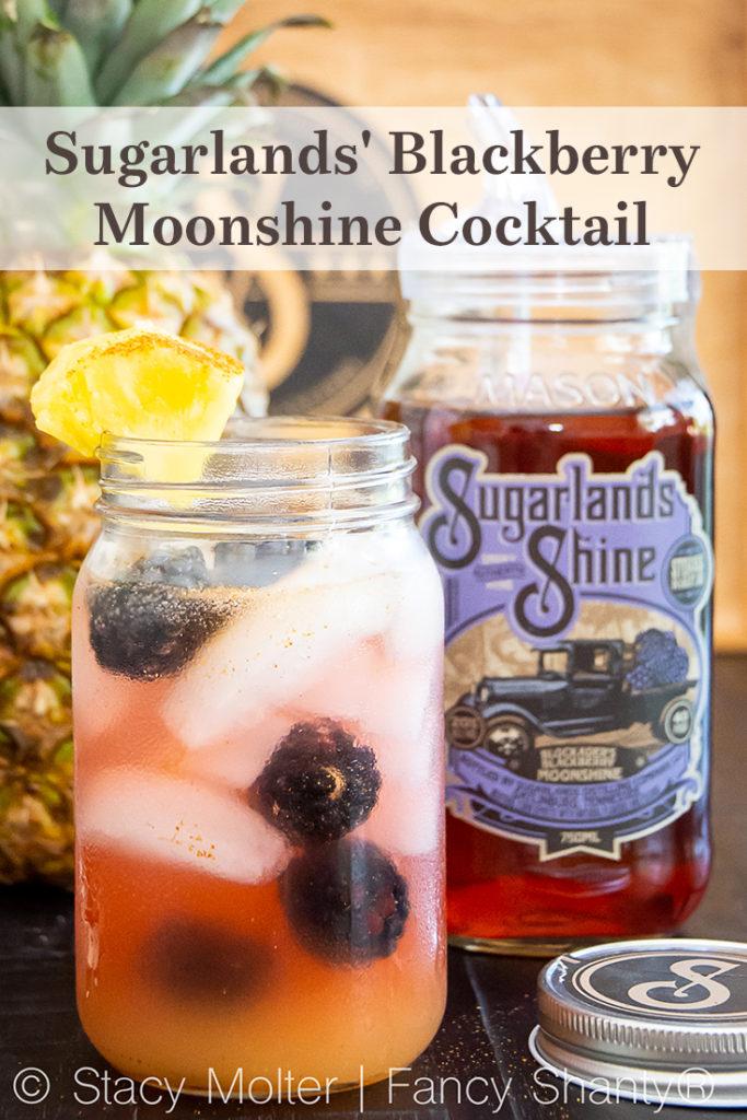Sugarlands' Blackberry Moonshine Cocktail