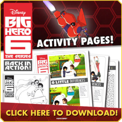 Big Hero 6 Activity Kit