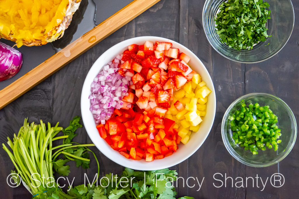 Better-than-Incredible Strawberry Pineapple Salsa