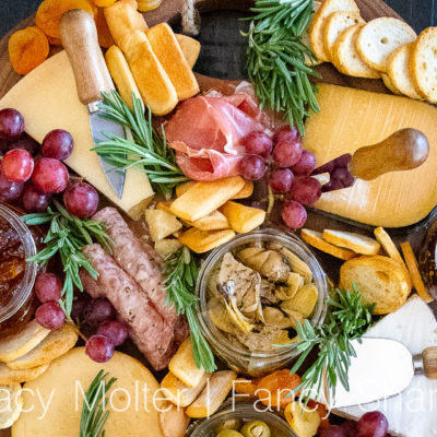Easy Cheese Board Ideas for a Book Club Party