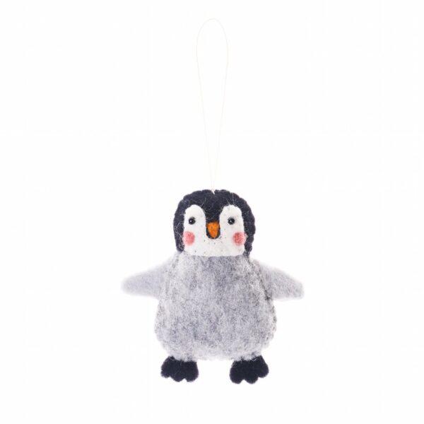 Arctic Penguin Animal Ornament