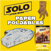 SOLO: A Star Wars Story Papercraft