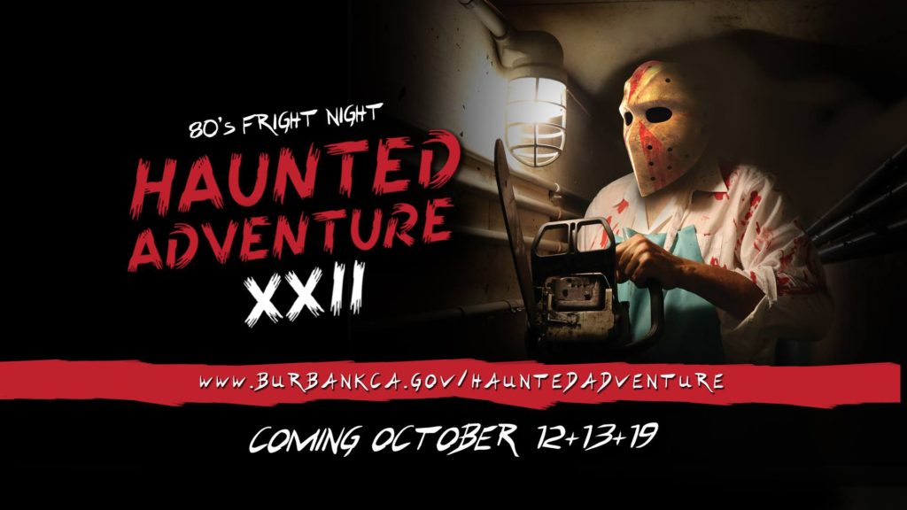 Haunted Adventure XXII: 80's Fright Night