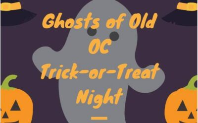 Ghosts of Old OC Trick or Treat Night