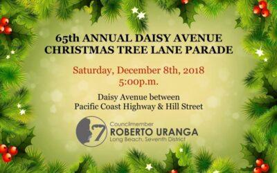 Daisy Avenue Christmas Tree Lane Parade