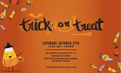 Free and Fun Family Trick-or-Treat Event
