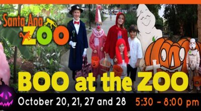 Santa Ana Boo at the Zoo