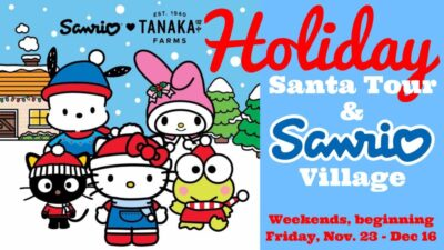 Holiday Santa Tour & Sanrio Village