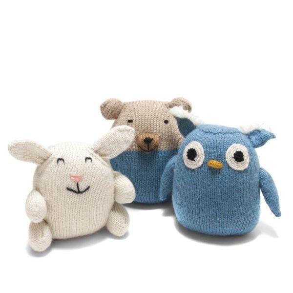 Handmade Stuffed Alpaca Bunny