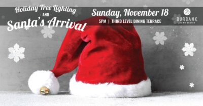 Holiday Tree Lighting & Santa's Arrival