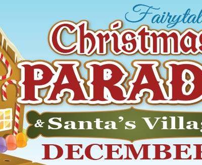 Camarillo Christmas Parade.Christmas Parade Santa S Village California Unpublished