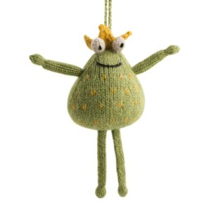 Alpaca Frog Ornament