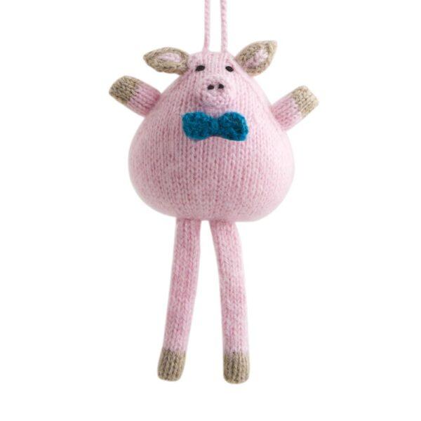 Alpaca Pig Ornament