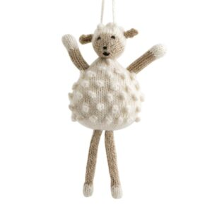 Alpaca Sheep Ornament