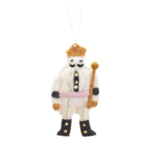 Felt Nutcracker Ornament