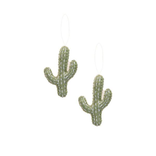 Cactus Ornament Set